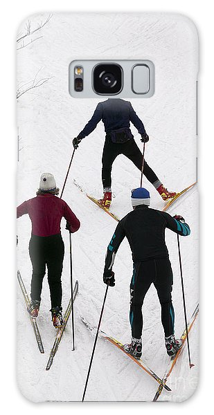 Three Cross Country Skiers. Galaxy Case