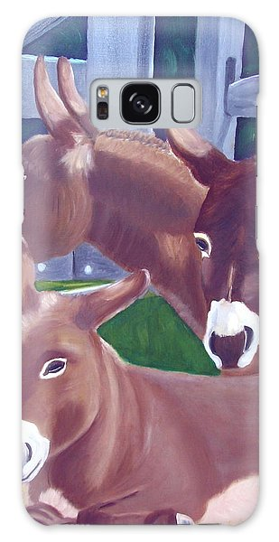 Three Donkeys Galaxy Case