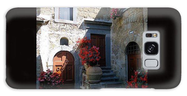 Three Doors In Bagnoregio Galaxy Case by Barbie Corbett-Newmin