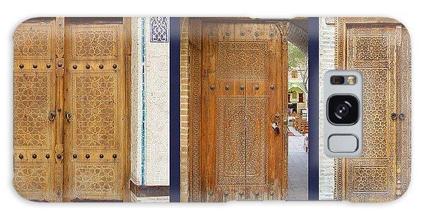 Three Doors To Bukhara Galaxy Case