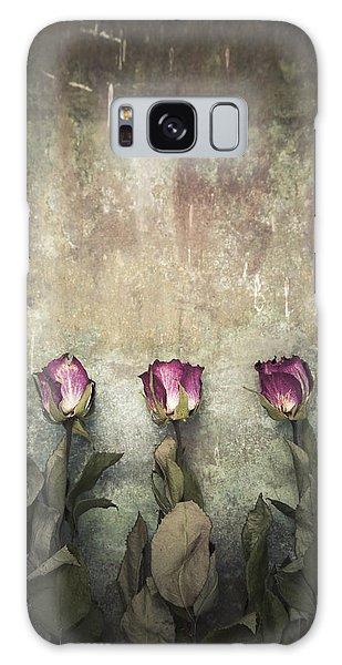 Three Dried Roses Galaxy Case