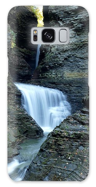 Three Falls In Watkins Glen Galaxy Case