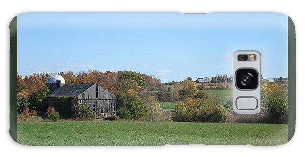 Three Farms In Autumn Galaxy Case