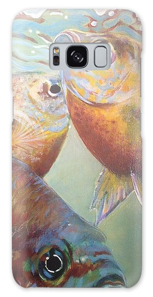 Three Fish Galaxy Case by Jan Swaren