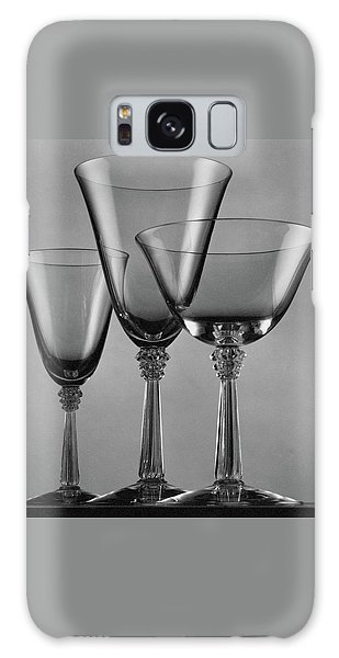 Three Glasses By Fostoria Galaxy Case