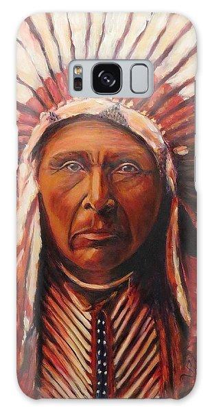 Three Horses, Native American  Galaxy Case