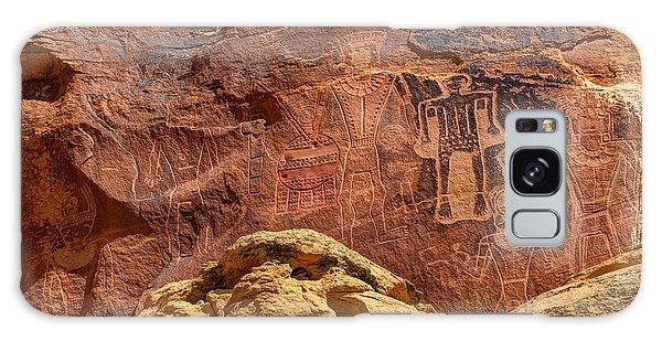 Three Kings Petroglyph - Mcconkie Ranch - Utah Galaxy Case