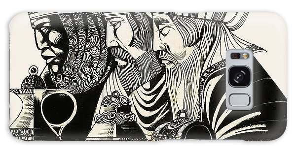Men Galaxy Case - Three Kings by Richard Hook