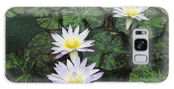 Three Lilies  Galaxy Case