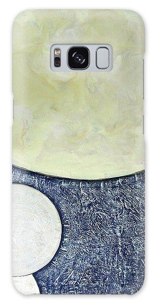 Three Moons Galaxy Case by Carolyn Goodridge