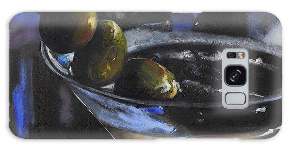 Three Olive Martini Galaxy Case