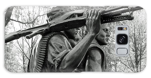Three Soldiers In Vietnam Galaxy Case