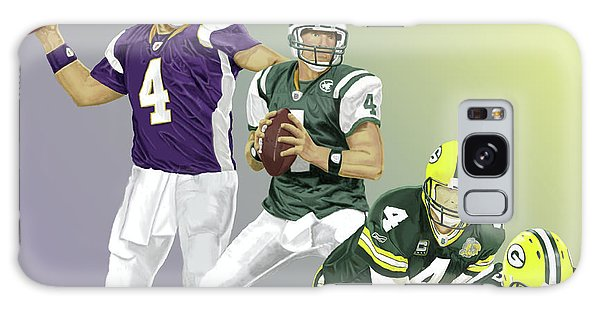 Three Stages Of Bret Favre Galaxy Case