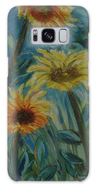 Three Sunflowers - Sold Galaxy Case