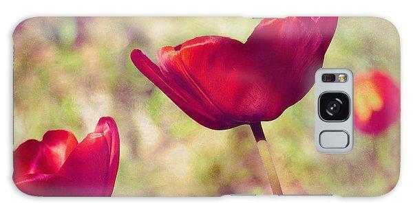 Three Tulips Galaxy Case