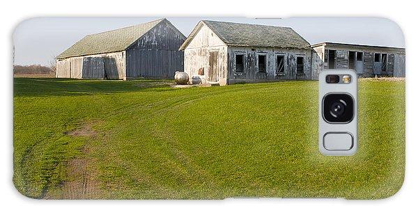 Three Weathered Farm Buildings Galaxy Case