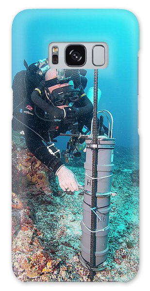 Scuba Diving Galaxy Case - Thresher Shark Research by Scubazoo/science Photo Library