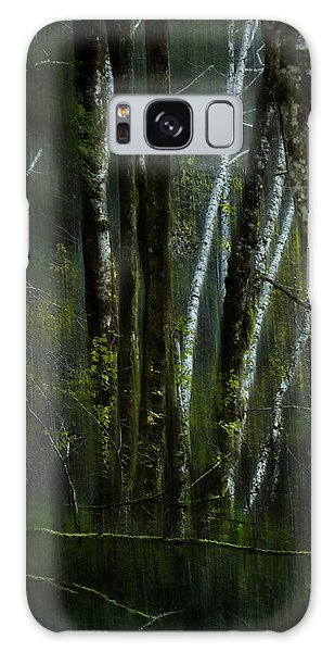 Galaxy Case featuring the photograph Through A Glass . . . Darkly by Belinda Greb