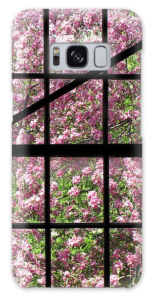 Window Galaxy Case - Through An Old Window by Olivier Le Queinec