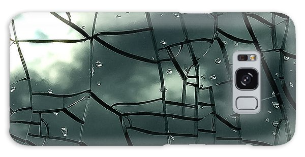 Through Broken Glass Galaxy Case