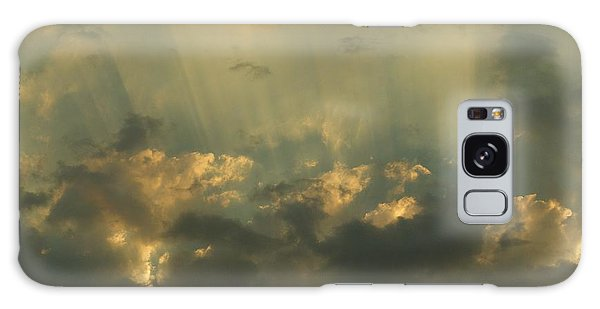 Through The Clouds Galaxy Case by Loni Collins