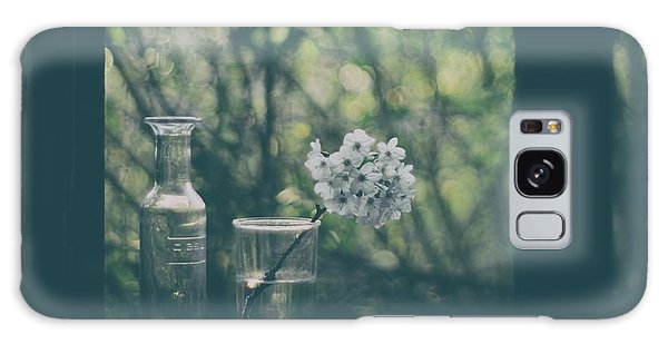 Blossoms Galaxy Case - Through The Open Window by Delphine Devos