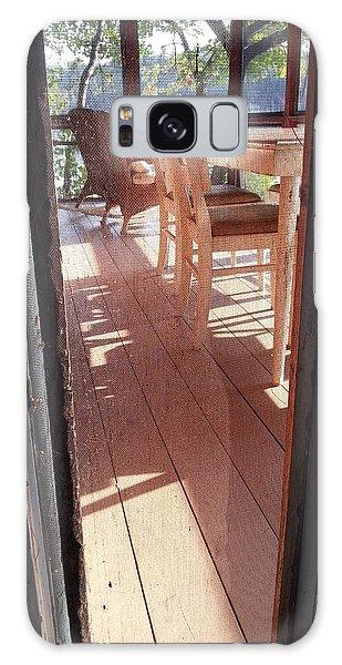 Through The Screen No 2 Galaxy Case by Lon Casler Bixby
