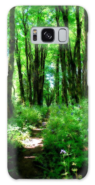 Through The Trees Galaxy Case