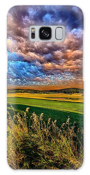 Through The Valley Galaxy Case by Phil Koch