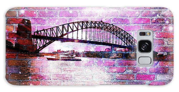 Sydney Harbour Through The Wall 1 Galaxy Case by Leanne Seymour