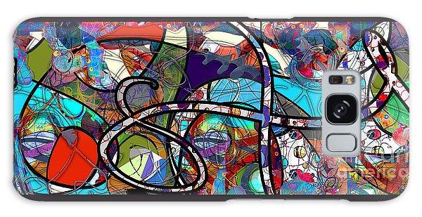 Through The Wormhole Galaxy Case by Gabrielle Schertz