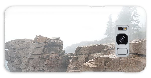 Thunder Hole Point Galaxy Case