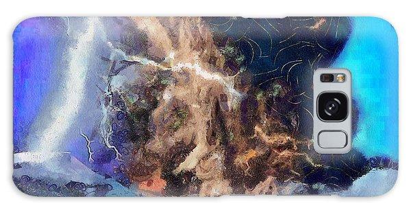 Thunder Struck Galaxy Case