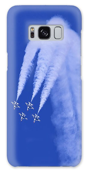 Thunderbirds Diamond Formation Downwards Galaxy Case
