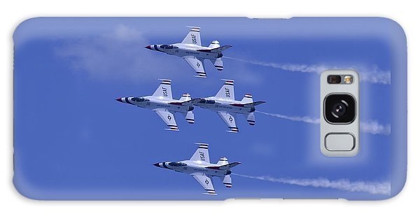 Thunderbirds Diamond Formation Topsides Galaxy Case