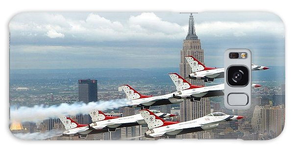 Thunderbirds Over New York City Galaxy Case by U S A F