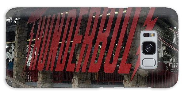 Thunderbolt Roller Coaster Galaxy Case by Michael Krek