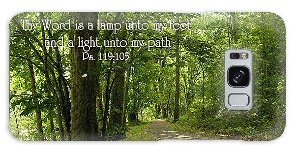Thy Word Is A Lamp Unto My Feet Galaxy Case