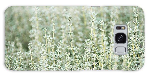 Herbs Galaxy Case - Thyme  by Elena Elisseeva