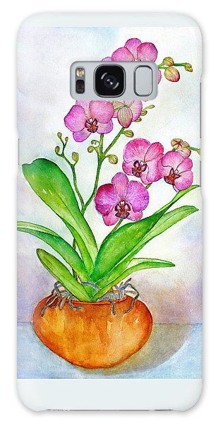 Ti Amo Orchid Galaxy Case