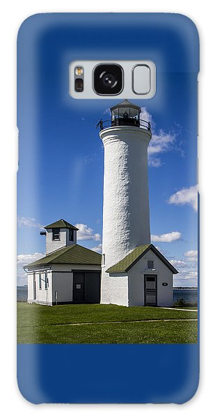 Tibbetts Point Lighthouse Galaxy Case by Ben and Raisa Gertsberg