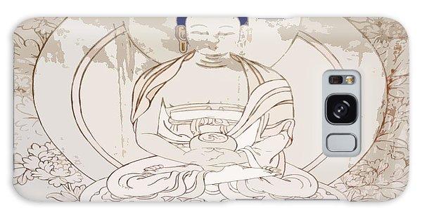 Tibet Buddha Galaxy Case