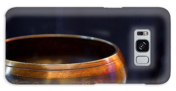 Tibetan Singing Bowl Galaxy Case by Theresa Tahara