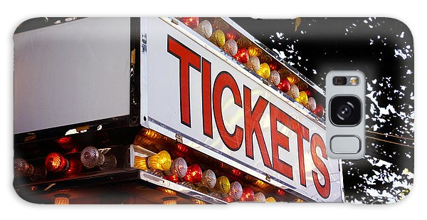Tickets Galaxy Case