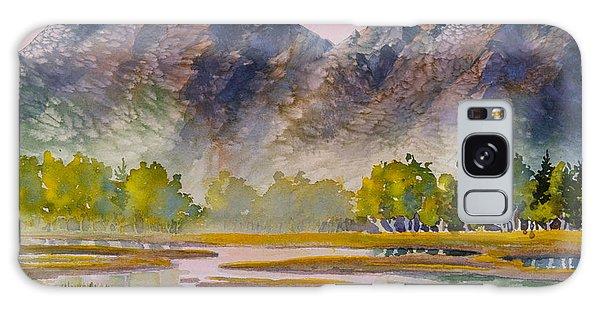 Tidal Flats Galaxy Case by Teresa Ascone