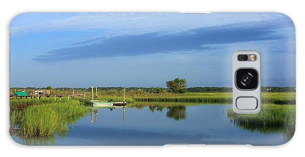 Tidal Marsh At Wrightsville Beach Galaxy Case