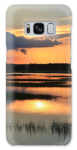Tidal Marsh- Wilmington Nc Galaxy Case by Mountains to the Sea Photo