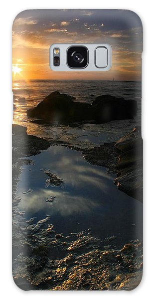 Tide Pool Reflection Galaxy Case