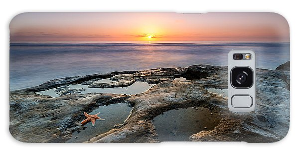 Tide Pool Sunset Galaxy Case