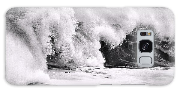 Tides Will Turn Bw By Denise Dube Galaxy Case